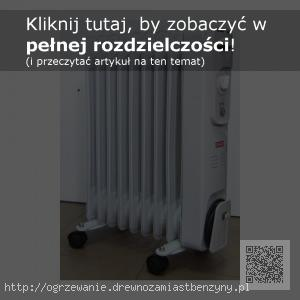grzejnik elektryczny o mocy 2 kW